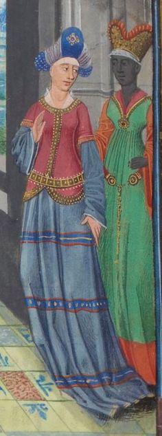Regnault de Montauban, rédaction en prose. Regnault de Montauban, tome 1er  Date d'édition :  1451-1500  Ms-5072 réserve   Folio 17v