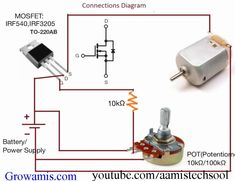 How to Make an Universal DC Motor Speed ​​Controller - Controller DC Motor Spe .How to Make an Universal DC Motor Speed ​​Controller - Controller DC Motor Speed Cool DIY Gadgets You Can Make Electronics Projects, Electronic Circuit Projects, Hobby Electronics, Electrical Projects, Electronics Components, Electronic Engineering, Arduino Projects, Electrical Wiring, Electrical Engineering