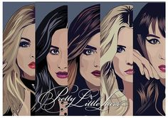 Pretty Little Liars Sasha/Shay/Lucy/Ashley/Troian