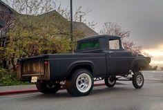 Hot Rod Trucks, Cool Trucks, Cool Cars, Dodge Pickup Trucks, Ford Pickup Trucks, Custom Trucks, Custom Cars, Hot Rod Pickup, Classic Ford Trucks
