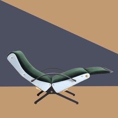 Back from holidays with this fabulous Osvaldo Borsani P40 lounge chair. #dimoregallery #historicaldesign #osvaldoborsani