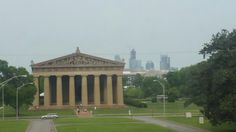 Parthenon. ..because Nashville is known as the Athens is the South