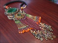 The beauty queen of the tribe Necklace by ARTSTUDIO51 on Etsy