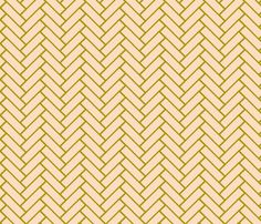 herringbone SUSHI fabric by ninaribena on Spoonflower - custom fabric