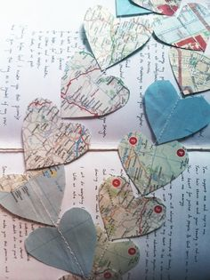 Map decorations and vows