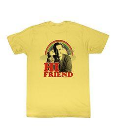 Loving this Banana 'Hi Friend' Tee - Toddler & Kids on #zulily! #zulilyfinds