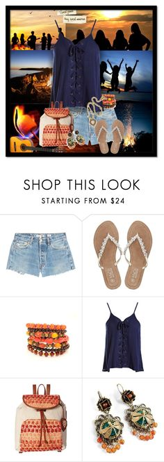 """""""Special Friends Bring Special Memories"""" by majezy ❤ liked on Polyvore featuring Take-two, RE/DONE, M&Co, Sans Souci, Tommy Bahama and Sweet Romance"""