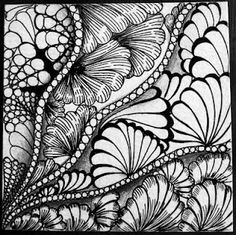 This would more than likely be a #zentangle which I hope to be able to get some training and/or practicing in whenever I get the time to do so, or #whatever #doodles