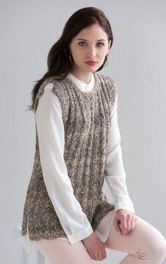 8b59c1900 Lucia Top in Filatura di Crosa Tempo Knitting Pattern Download Crochet  Magazine