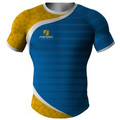 d9ef5fa2d8e32 Scorpion Sports rugby shirt manufactured and printed in the UK within 2 to  3 weeks