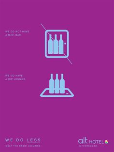 Alt Hotel: Mini-bar #ad #print