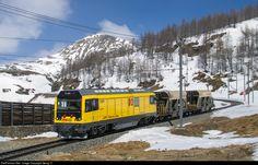 RailPictures.Net Photo: 23402 RhB - Rhätische Bahn Gmf 4/4 234 at Alp Grüm, Switzerland by Georg Trüb
