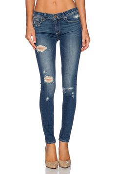 PAIGE Denim Verdugo in Danica Destructed