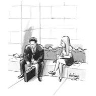 """""""Whatever the economy is doing, it is doing it without me"""" - The New Yorker"""