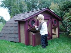 Some people even use them as way-cool chicken coops:  offbeathome.com