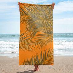 Palm Trees, summer beach, Towel