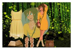 """Jane-Tarzan"" by kellie-500 ❤ liked on Polyvore"