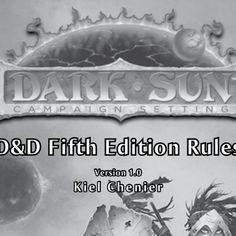 Pdf 4e dark sun