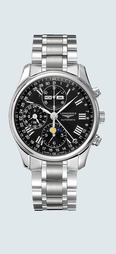 84072dffba Watch zoom The Longines Master Collection L2.673.4.51.6 High End Watches