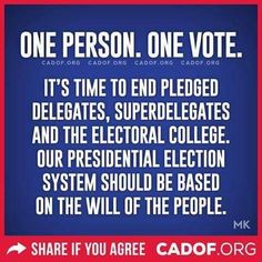 Yes! It's time for America to become a democracy.