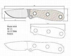 Чертежи ножей для изготовления: часть 3 | LastDay Club image 50