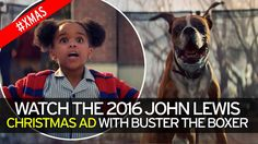 2016 John Lewis Ad #bustertheboxer This #trampoline was not manufactured by JumpSport, but it is an adorable ad. #nosqueakytrampolines