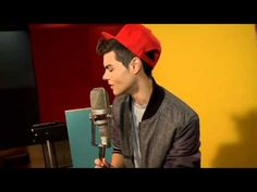 """NEW FOOTAGE!!! Disney Spain Frozen """"Love is an Open Door"""" cover by  Abraham Mateo"""