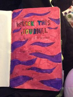 My wreck this journal title page