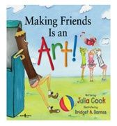 """Making Friends is an Art"" on TeachersNotebook.com.To a child, having even one good friend can make a huge difference. Research shows it is not the quantity of friends that matters, it is the quality. In Making Friends is an Art children learn how to become better and making and keeping friends."