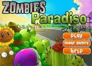 Plants VS Zombies Paradiso | Juegos Plants vs Zombies - Plantas contra zombies
