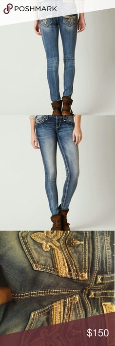 ROCK REVIVAL LAM SKINNY STRETCH JEAN Product details in picture provided Rock Revival Jeans Skinny