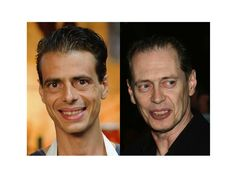Masterchef Australia contestant Filippo Silvestro... and actor Steve Buscemi