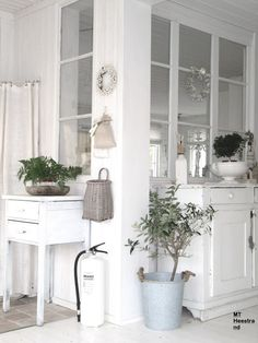 I love these interior windows in scandinavian houses