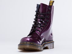 Dr. Martens Pascal in Purple Spectra Patent at Solestruck.com