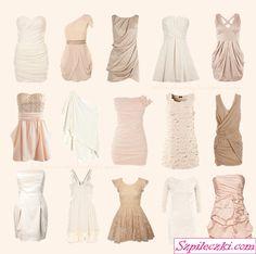 Powder dresses