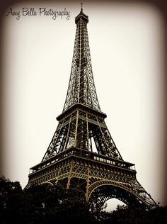 Antique Eiffel Tower- Paris, France