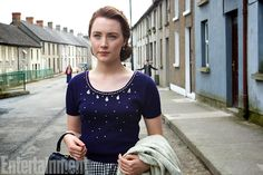 Brooklyn: Exclusive photos of Saoirse Ronan, Domhnall Gleeson, Emory Cohen  EW.com Photo credit: Kerry Brown.  A must-see film