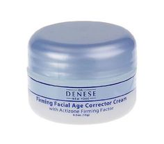 Dr. Denese Firming Facial Age Corrector Cream .5 oz (SKU-190) by Dr. Denese. $6.92. Dr Denese Firm Face Age Corrector Cream is a unique night cream that gives you an overnight facial, the result leaves your skin exfoliated, firm, and radiant, with improved clarity and tone.