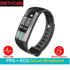 Watches Hospitable Smart Watch Men Women Fitness Tracker Smart Bracelet Real-time Blood Pressure Heart Rate Monitor Activity Tracker For Sport Ios Big Clearance Sale