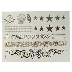 Metál tatoo matrica Tattoo Online, Tattoo Sticker, Tattoo Power Supply, Star Butterfly, Tattoo Machine, Temporary Tattoo, Body Art Tattoos, Stickers, Chain