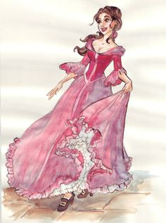 Beauty and the Beast (Disney) - Belle