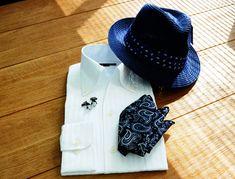 涼しいシャツはコレ!汗ばむ季節も快適に!春夏にピッタリのからみ織りシャツ。#ozie #オジエ #シャツ&ネクタイ専門店 ozie #メンズシャツ #涼しいシャツ #からみ織シャツ