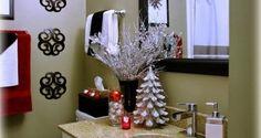 Ideas para que decores tu baño en Navidad | Ideas para Decoracion & Top 35 Christmas Bathroom Decorations Ideas | Pinterest | Christmas ...