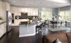 6 Dos and Don'ts of living room remodeling Kitchen Design, Kitchen Decor, Kitchen Shelves, Kitchen Ideas, Kitchen Floor Plans, Living Room Kitchen, Dining Room, Open Concept Kitchen, Living Room Remodel