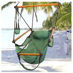 Air-Hammock-Hanging-Swing-Patio-Deluxe-Tree-Sky-Chair-Outdoor-Porch-Lounge-USA
