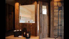 Die Zirbensauna im Chalet Tannenhof. Der Duft der Zirbe ist wunderbar. Das Herz und der Geist kommen zur Ruhe. Oversized Mirror, Frame, Sauna, Furniture, Home Decor, Ad Home, Heart, Zugspitze, Viajes