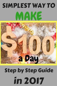 How to make 100 dollars a day. Simplest way to make money online and to start Your own online business. Only 7-steps to results. Click the link and Join FREE NOW.