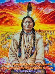 LOVE IS ...VERSE  http://www.zazzle.co.uk/kompas  #love #alanjporterart #kompas #nativeamerican #chief #sittingbull #quote #spirit #verse #believe #soul #change