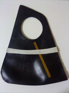 HANG inner tube rubber bag by artikultcat on Etsy, €100.00