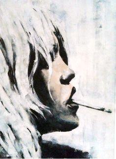 artist Barbara von Tannenberg 50x70 cm acrylic on canvas